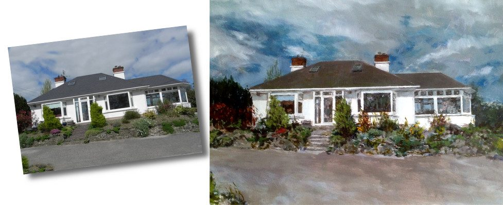 Let us transform your photo into an original oil painting